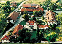 Herrmannsdorf from the air; Foto: Herrmannsdorfer