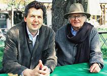 Karl and Karl Ludwig Schweisfurth; Foto: Herrmannsdorfer