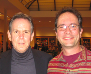 Chef Thomas Keller and me